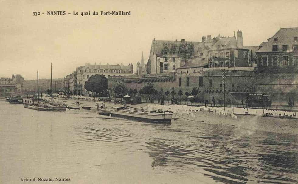 Nantes - Le quai du Port-Maillard