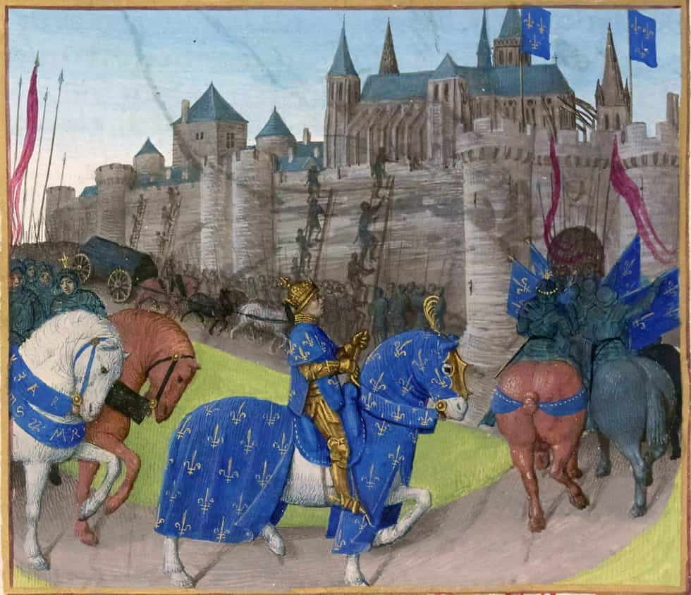 Prise de Tours en 1189